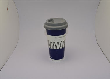China Starbucks Ceramic Travel V Shaped Coffee Mugs That Change Color With Heat supplier