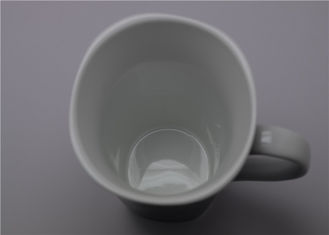 China Porcelain Heat Sensitive Photo Mug , Milk / Beverage Color Change Mug supplier