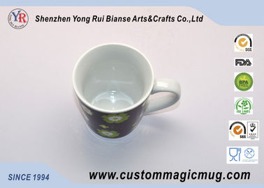 China Personalised Magic Coffee Heat Color Changing Ceramic Mug With Photo supplier
