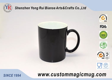 China Christams Xmas Gift Heat Sensitive Magic Mug , Thermochromic Coffee Mug supplier
