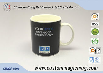 China Color Change Ceramic Temperature Sensitive Coffee Mugs Personalized supplier