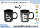 China Holiday Gift Color Changing Ceramic Mug Advertising White Porcelain factory