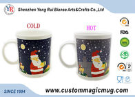 China Heat Sensitive Magical Personalized Kids Mugs Color Change For Christmas Gift factory
