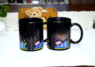 China Magical Fashion Heat Reactive Color Changing Coffee Mug 11oz Capacity factory