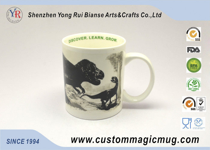 b36cc880020 Custom Temperature Sensitive Color Changing Ceramic Mugs 11oz OF Magnesia  Porcelain