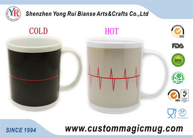 China 300ml Color Change Heat Sensitive Mug , Personalized Kids Coffee Mugs distributor
