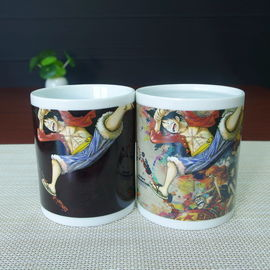 China LUFFY milk tea drinking color changing magic coffee mug AB/ABC distributor