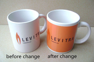 China Gifts Ceramic Heat Reactive Magic Color Changing Mug OEM Accepted distributor