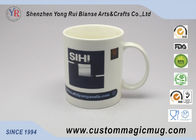 Straight Shape Colorful Heat Sensitive Color Changing Mug 11oz 325ml