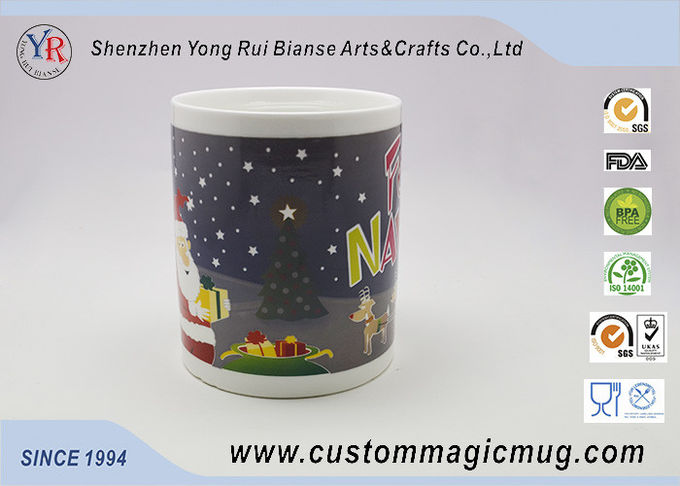 Heat Sensitive Magical Personalized Kids Mugs Color Change For Christmas Gift