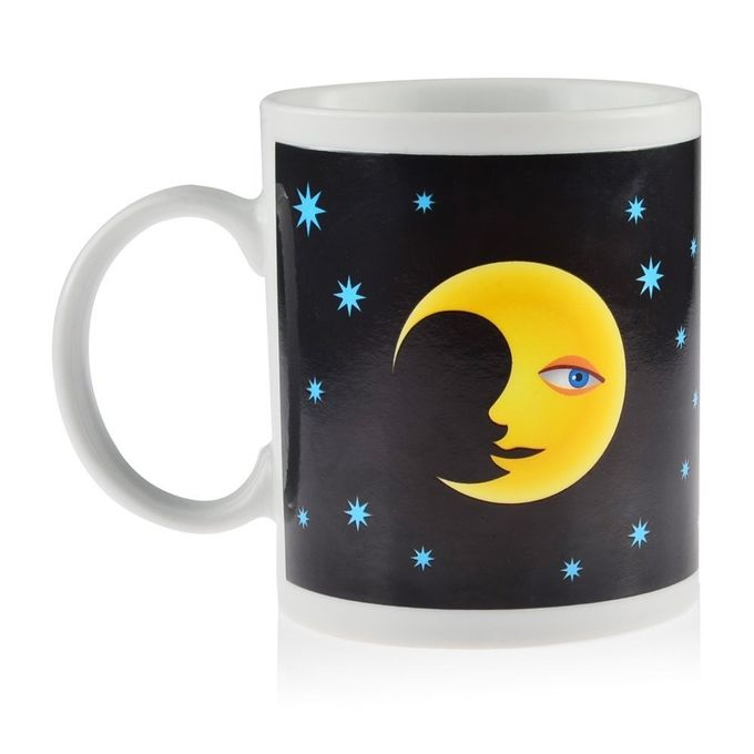 PeleusTech Magic Heat Sensitive Color Changing Mug Ceramic Coffee Tea Cup