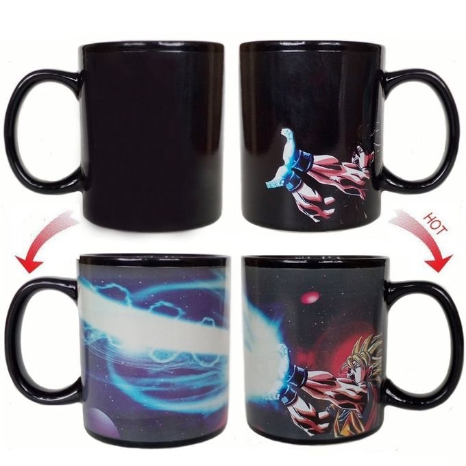 Thermochromic Coffee Mug Personalized Kids Mugs Dragon Ball Creative Idea Gift
