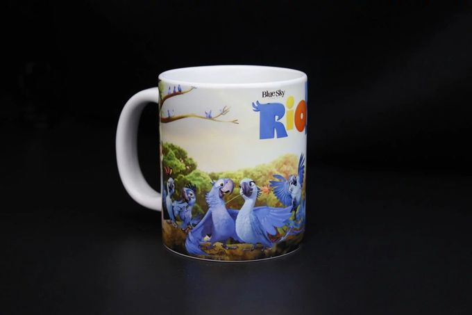 Sublimation Promotional Coffee Mugs Custom Picture 300ml Capacity
