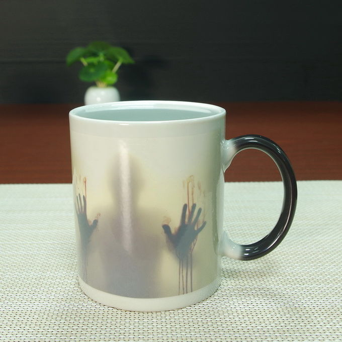 Walking Dead Full Color Changing Mug / Glossy Color Changing Coffee Mug