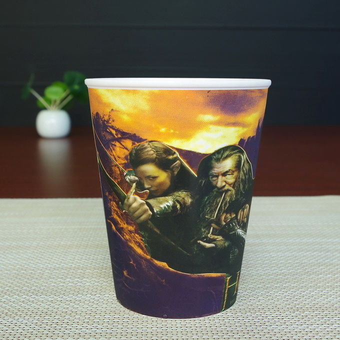 AB Grade Customized Large Plastic Drinking Cups With Cold Change