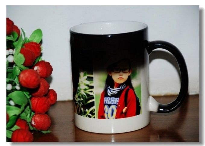 Photo Custom A B Grade Personalized Kids Mugs , Porcelain Eco Friendly Mugs