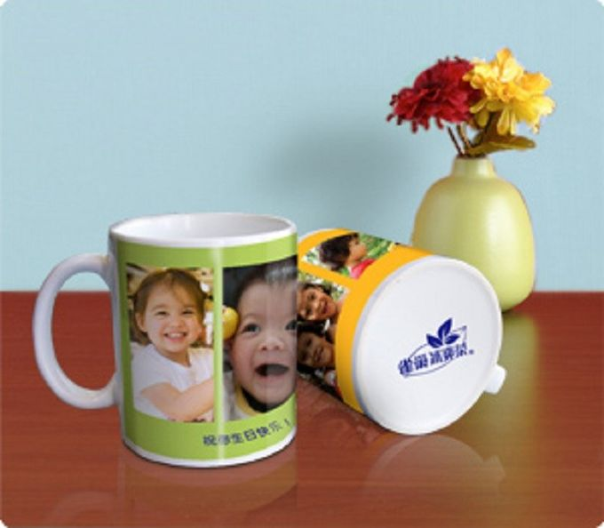Popular Christmas Gift Personalized Kids Mugs For Milk Or Coffee
