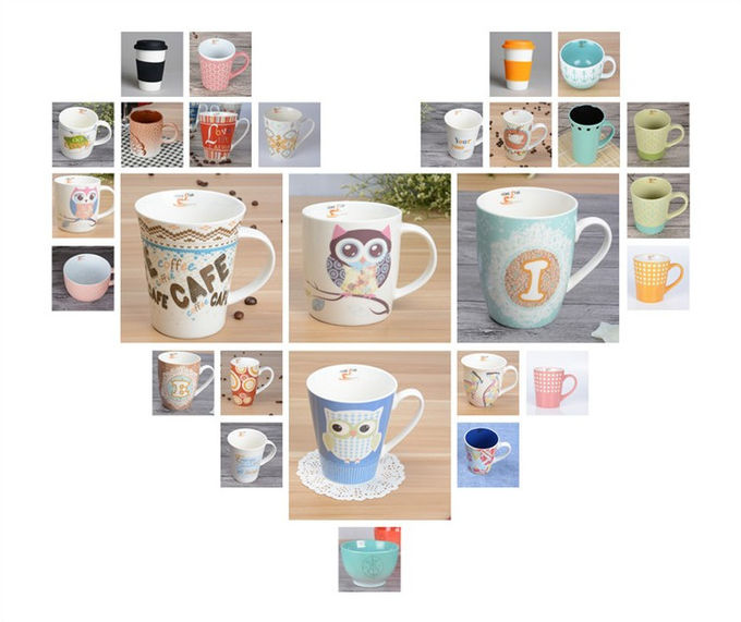 Magic Hot Water Colour Changing Mugs Eco Friendly , 300ml Capacity